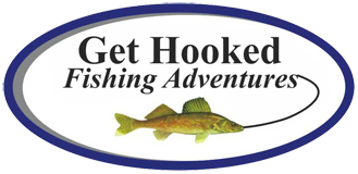 get hooked fishing adventures logo